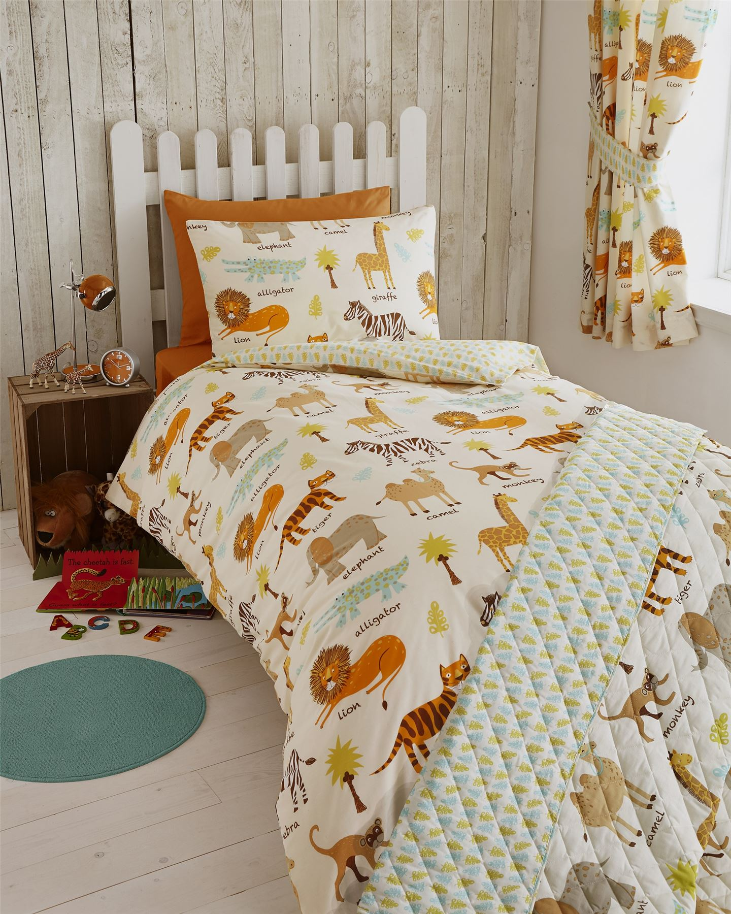 Childrens Quilt Duvet Cover & Pillowcase Bedding Sets Or ...