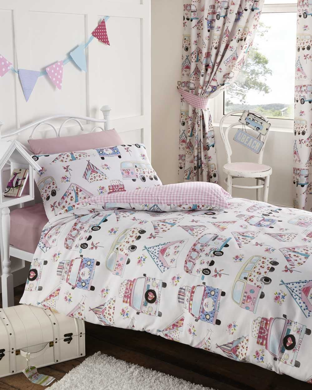 Boys Duvet Cover & Pillowcase Bedding Bed Sets Or Matching Curtains ...