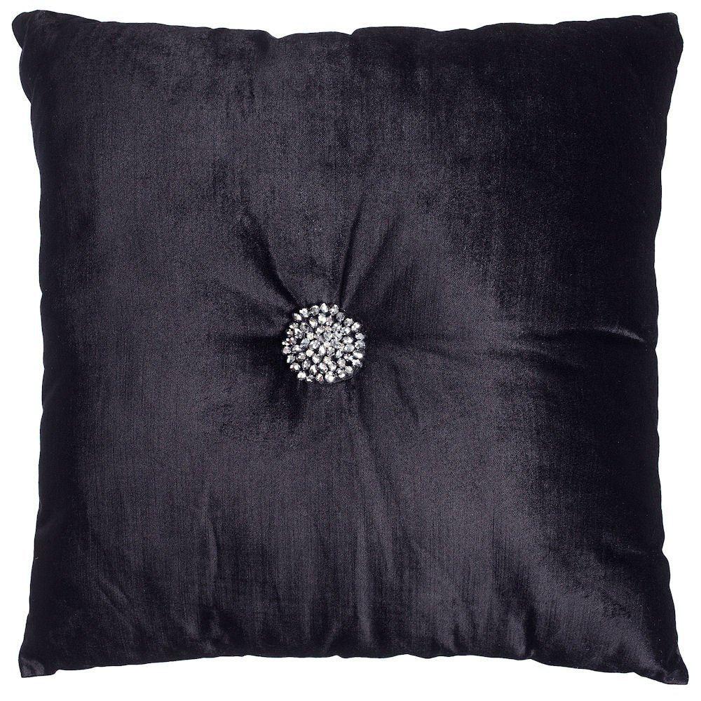 Kylie minogue velvetina designer sequined quilt duvet for Kylie astoria black bedding set