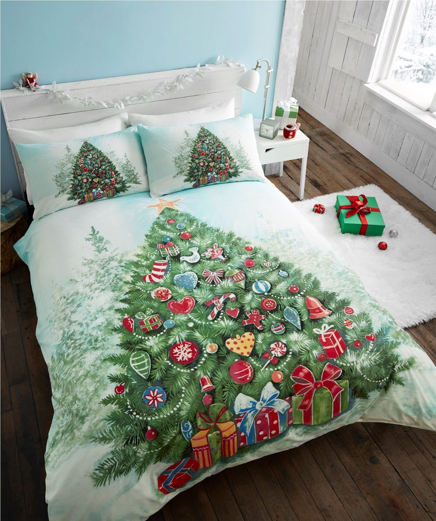 Super King Christmas Bedding Set Tokida For