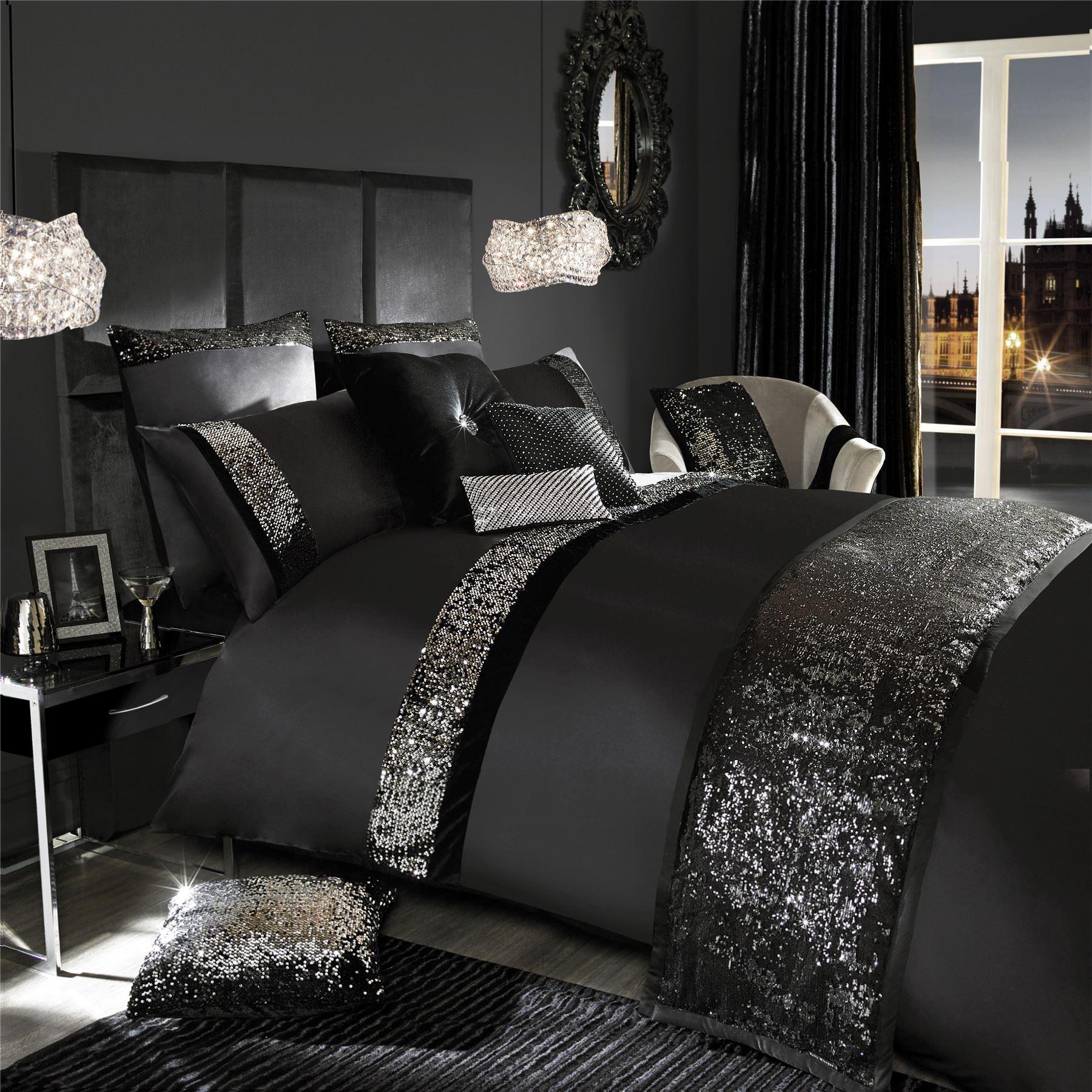 Kylie minogue velvetina designer sequined quilt duvet for Bed quilt designer