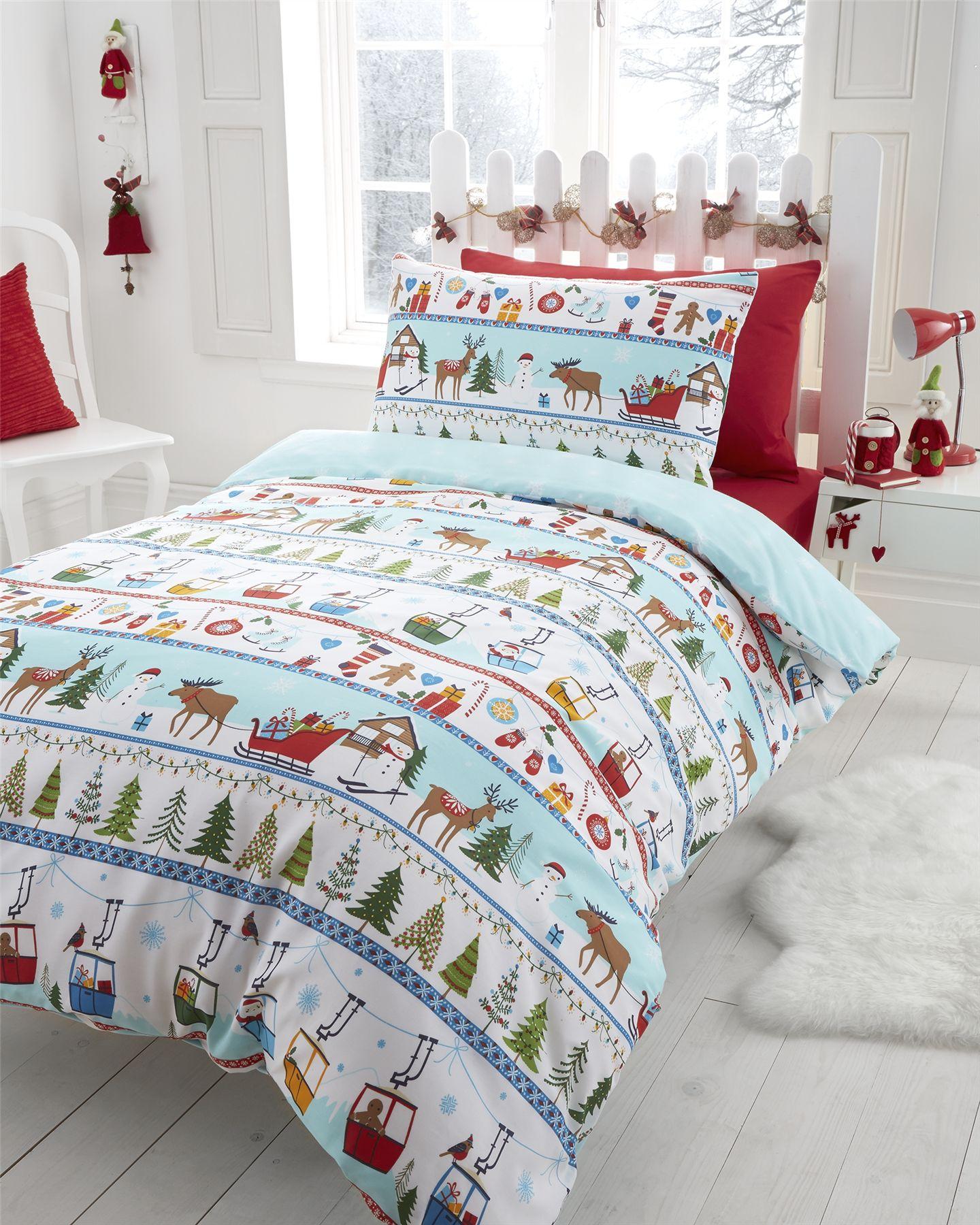 Kids Christmas Duvet Covers - Sweetgalas