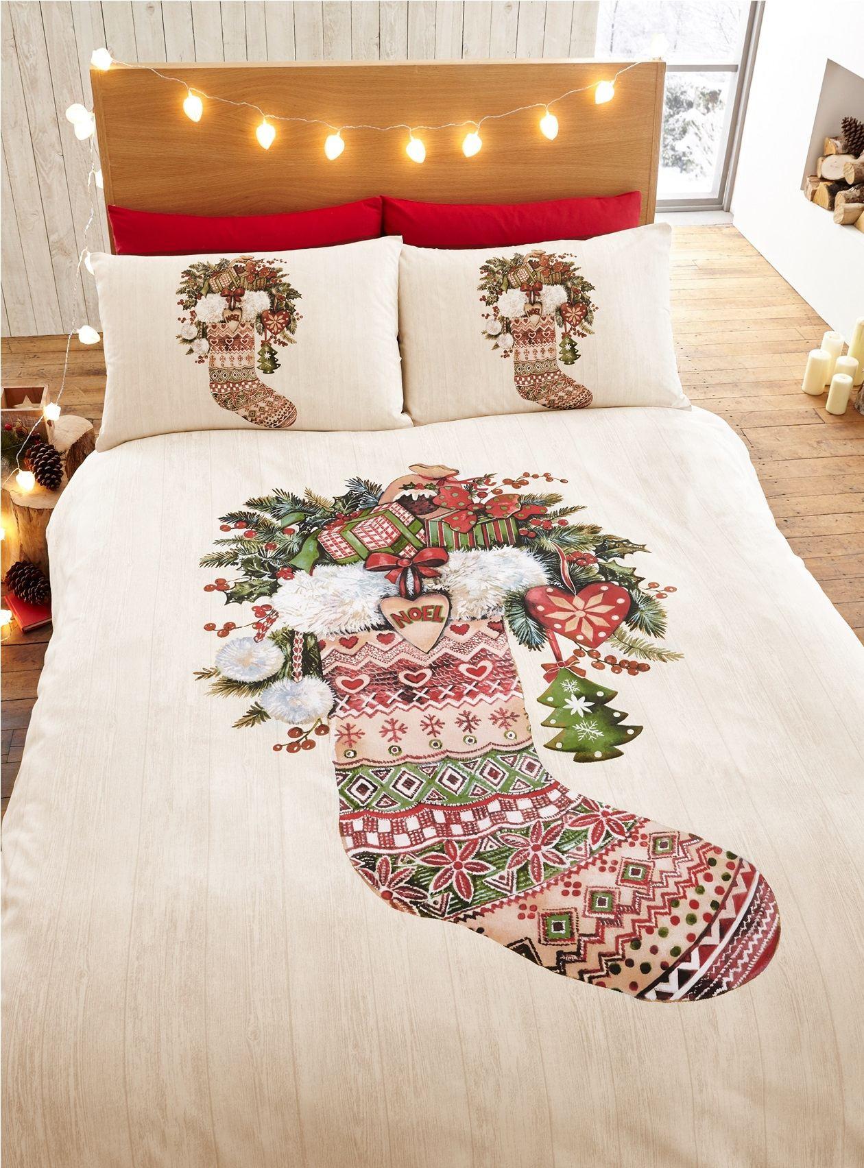 Christmas kids quilt duvet cover bedding bed sets sizes