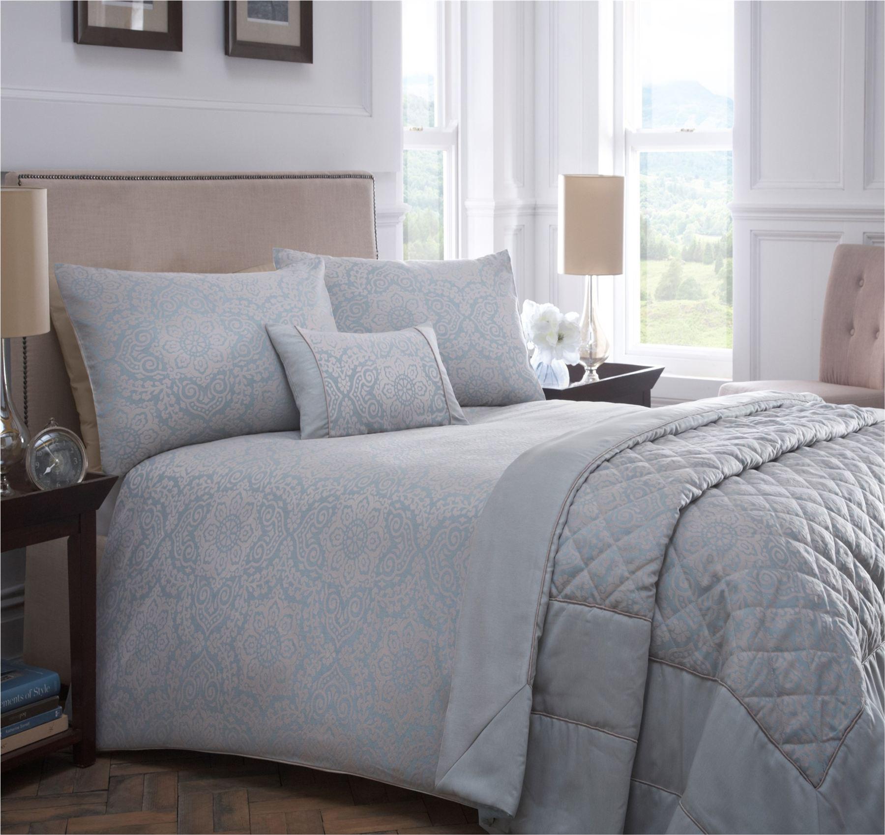 Luxury woven jacquard quilt duvet cover bedding bed linen sets pink blue ivory ebay