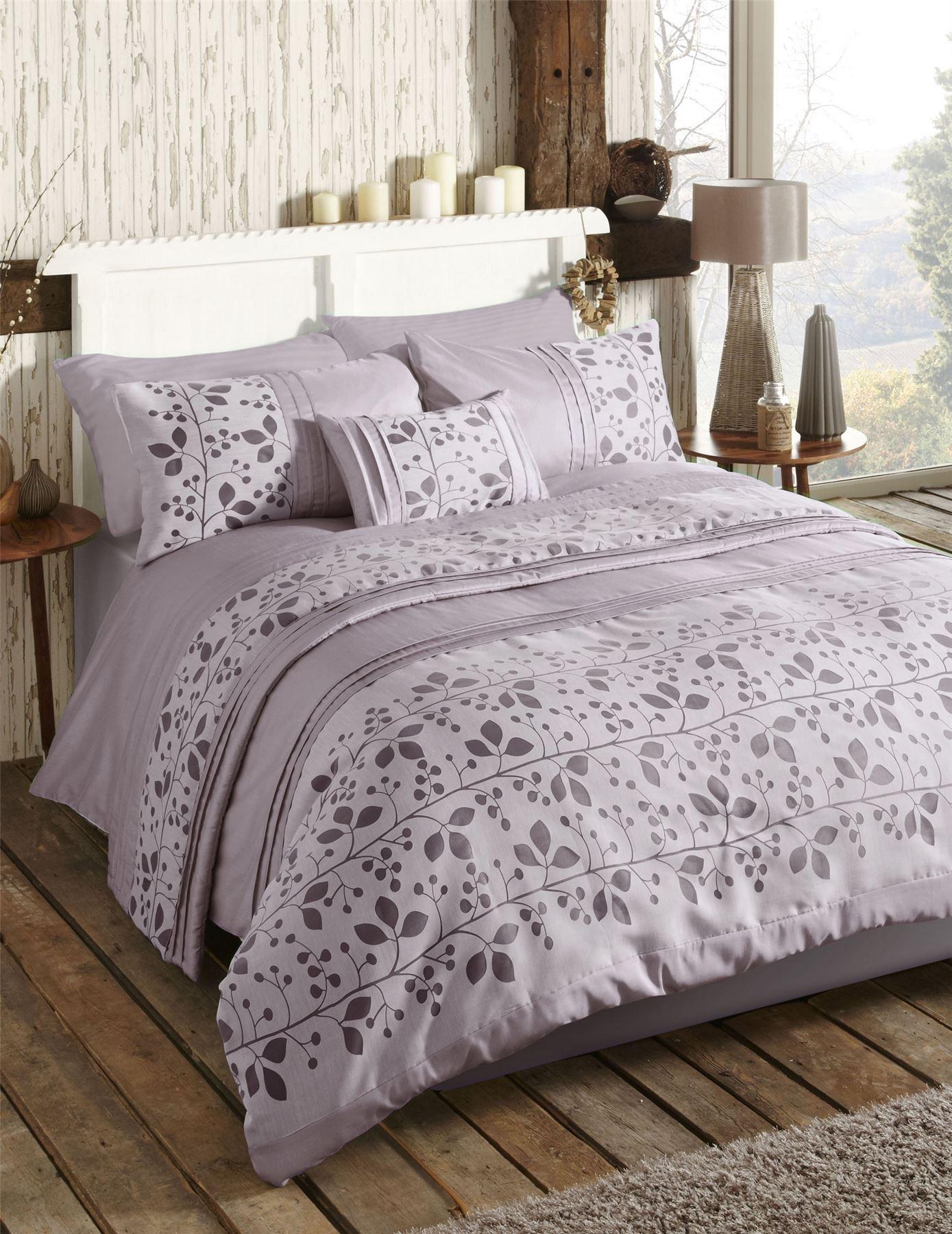 modern leaf nature themed quilt duvet cover bed sets