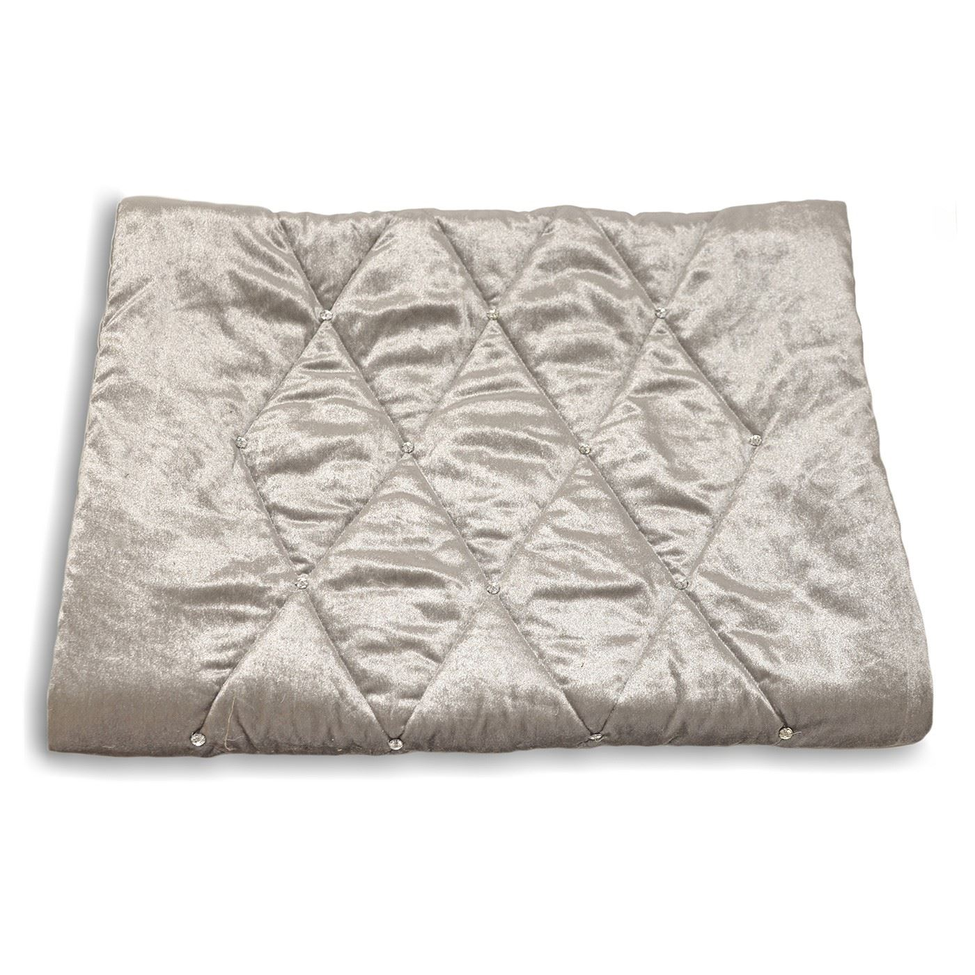 Modern decorative runner lightly quilted bed throwover for Decorative bed throws