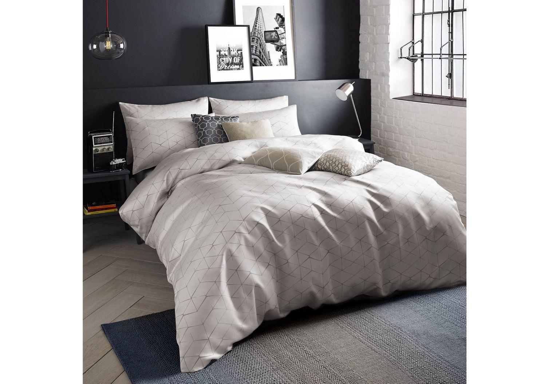 Quilt duvet cover pillowcase bedding bed set modern - Housse de couette tartan ...