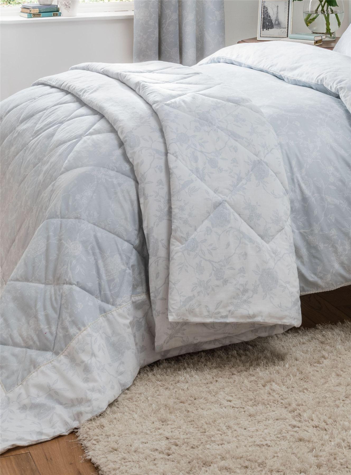 Duck Egg Blue 100 Cotton Duvet Cover Bedding Set Or