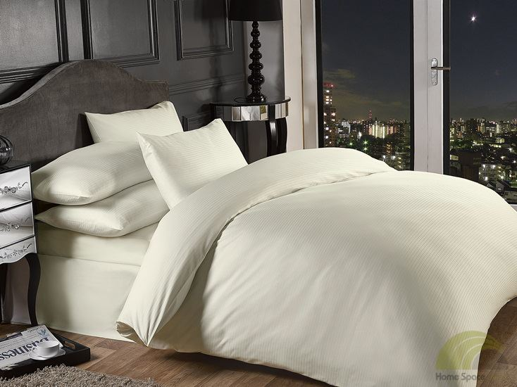 Hotel style percale duvet cover pillowcase bedding set for Hotel style comforter
