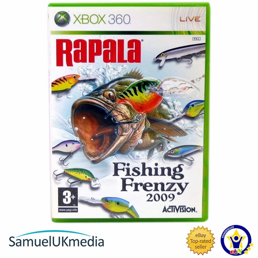 Rapala fishing frenzy usa wii fatal for Rapala fishing frenzy 2009