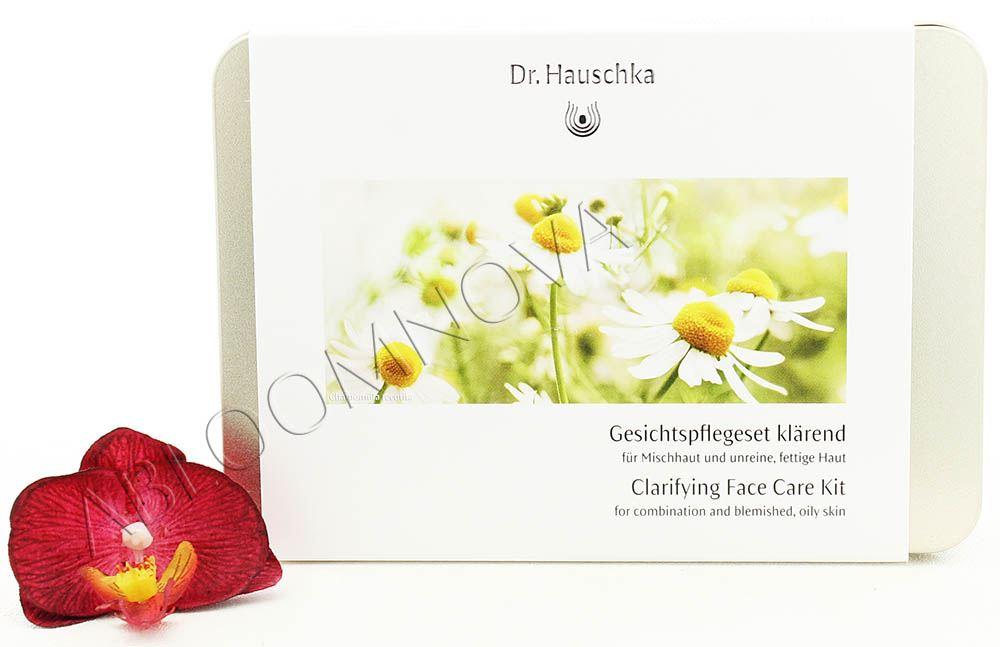 dr hauschka gesichtspflegeset kl rend clarifying face care kit ebay. Black Bedroom Furniture Sets. Home Design Ideas