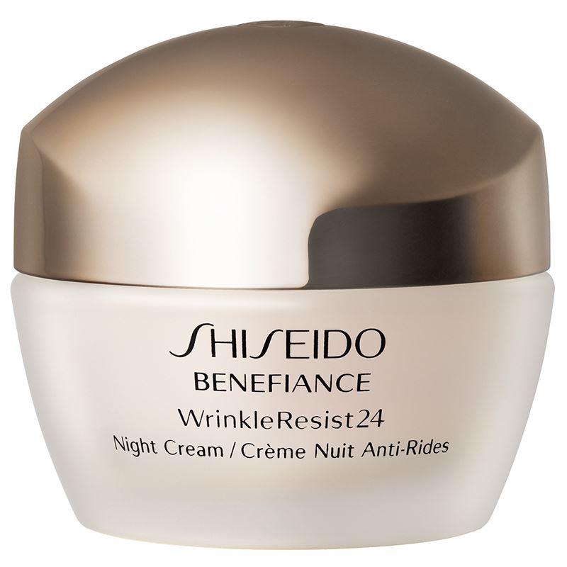 shiseido benefiance wrinkle resist 24 night cream 50ml ebay. Black Bedroom Furniture Sets. Home Design Ideas
