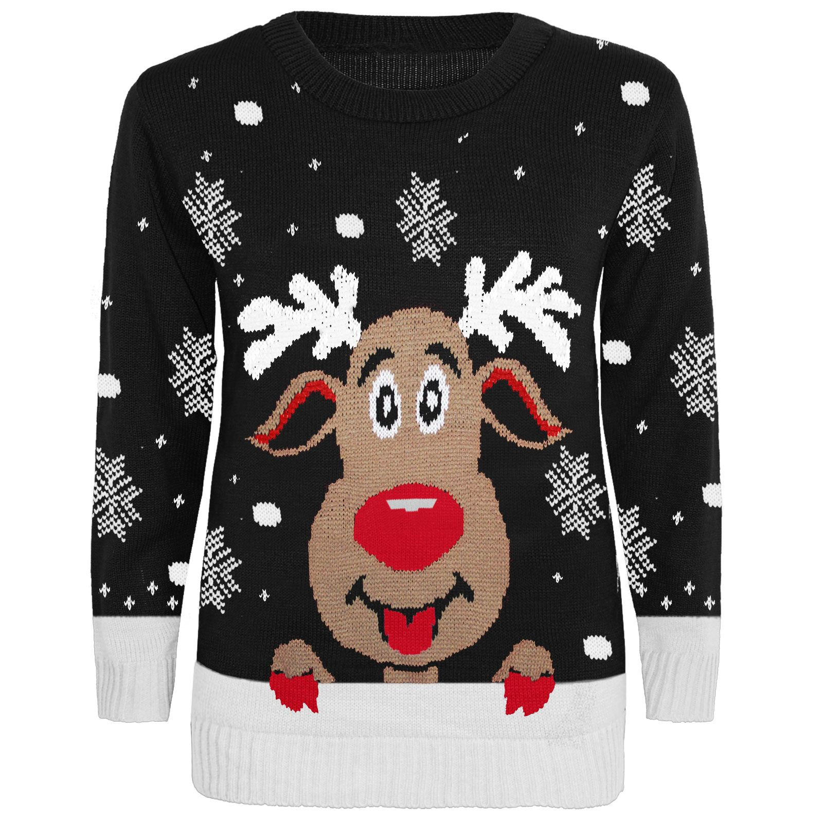 Olaf Christmas Jumper Knitting Pattern : KIDS CHILDREN FROZEN OLAF CHRISTMAS XMAS VINTAGE KNITTED JUMPER TOP 3-13 YEAR...