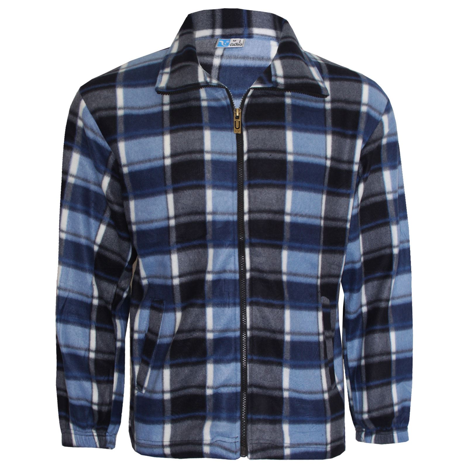 new mens lumber jack work shirt flannel jacket winter warm