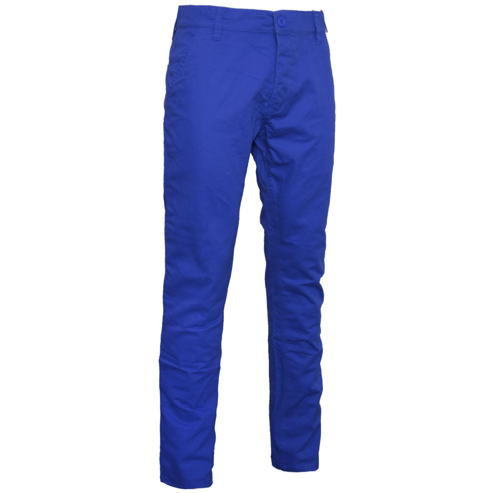 MENS CHINO JEANS SLIM REGULAR FIT PANTS TROUSERS STRAIGHT LEG ...