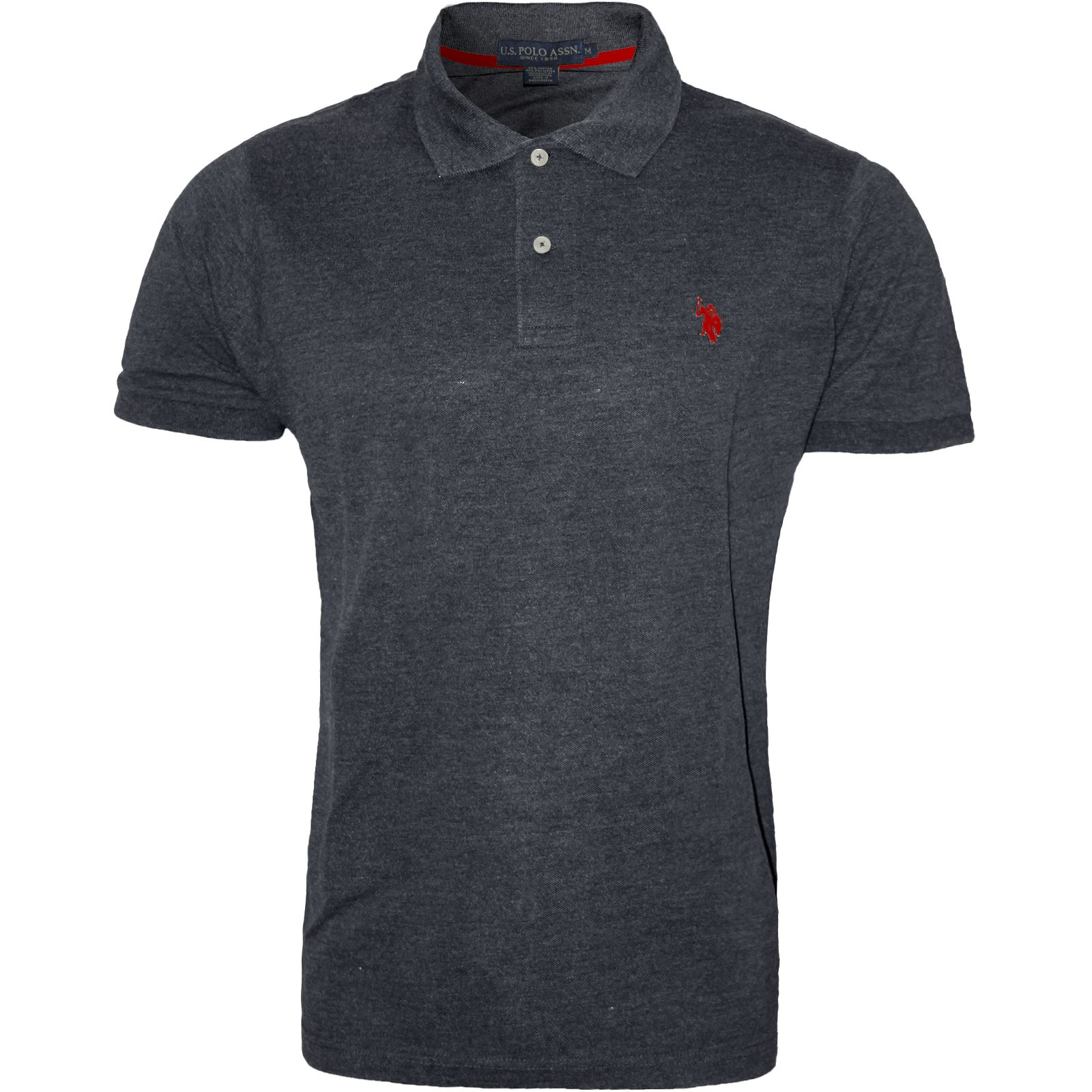Mens polo shirt original us polo assn branded t shirt top for Branded polo t shirts