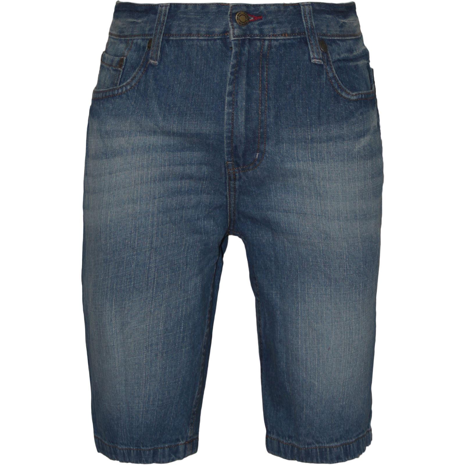 mens denim jeans shorts wash cargo combat casual knee length pants 30 38 ebay. Black Bedroom Furniture Sets. Home Design Ideas
