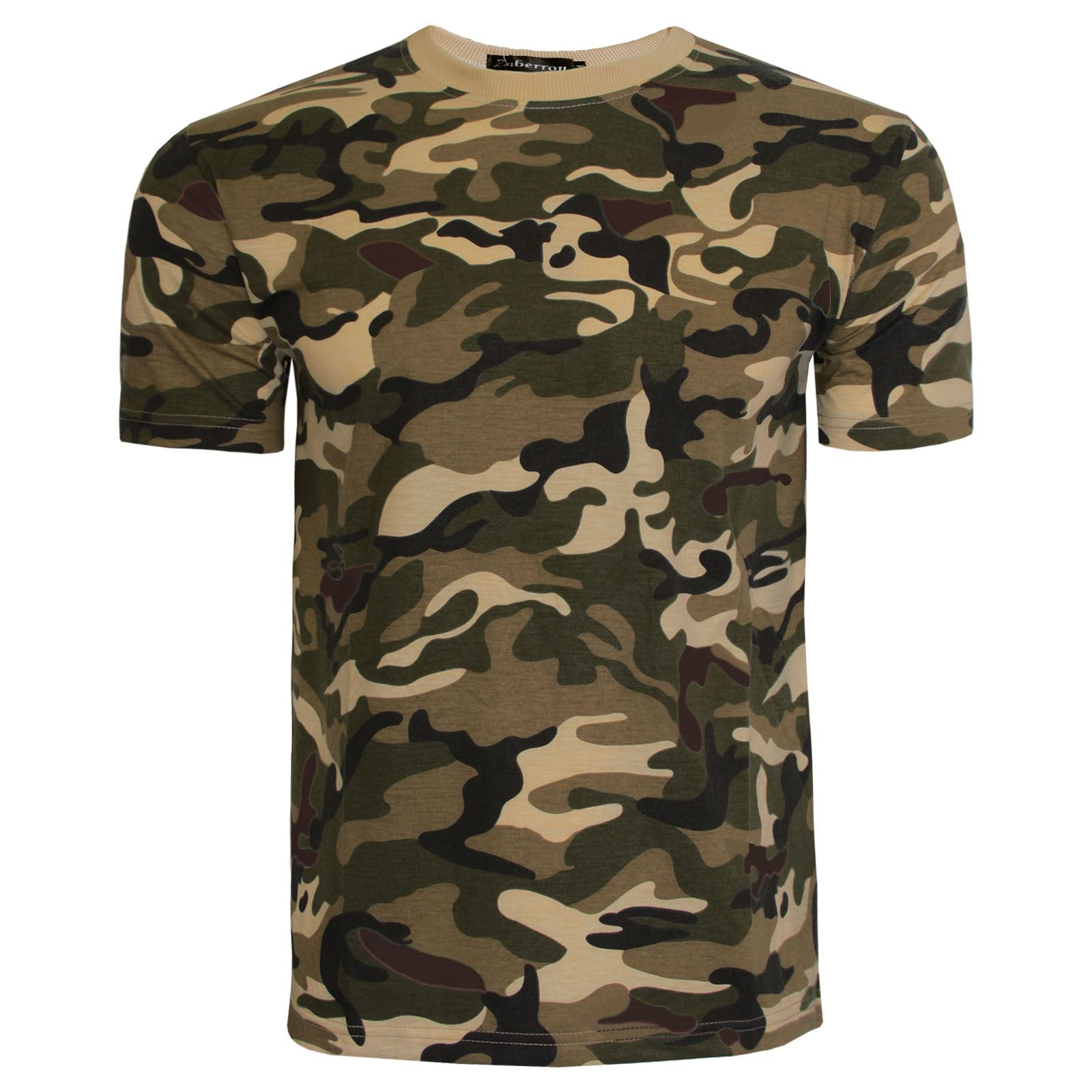 new kids boys camouflage army t shirt combat camo summer