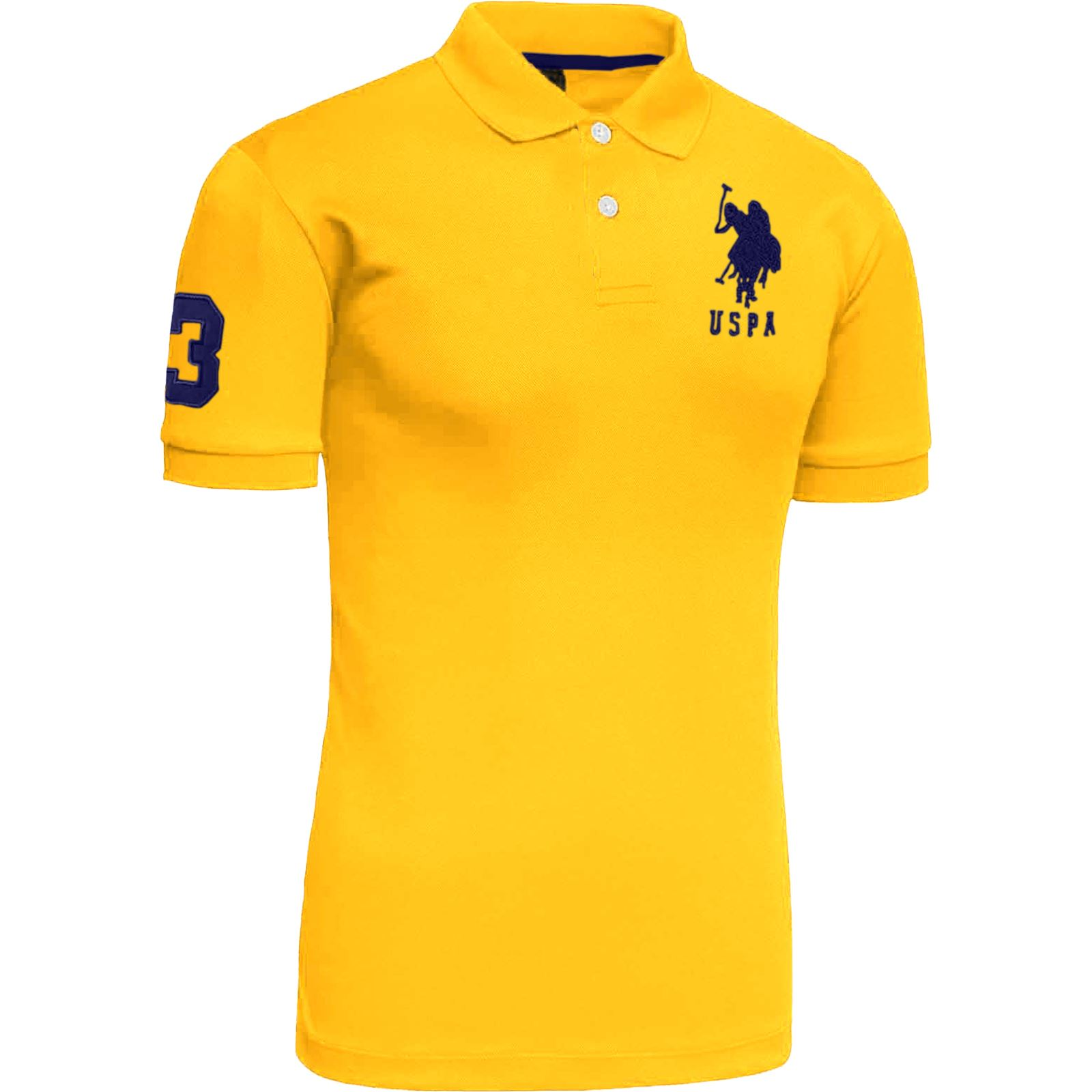 mens us polo assn pique tshirt original shirt branded top