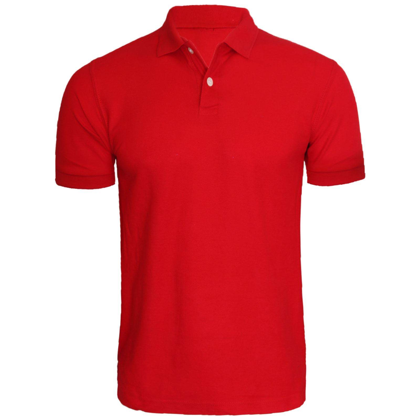 New Mens Short Sleeve Plain Polo Tshirt Top Golf Shirt