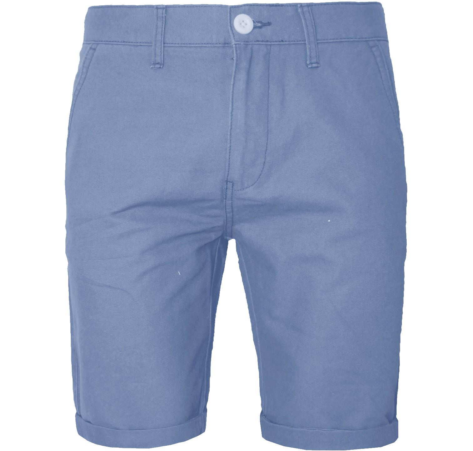 New Mens Chino Shorts Hidden Elastic Waist Band Rollup Cargo ...