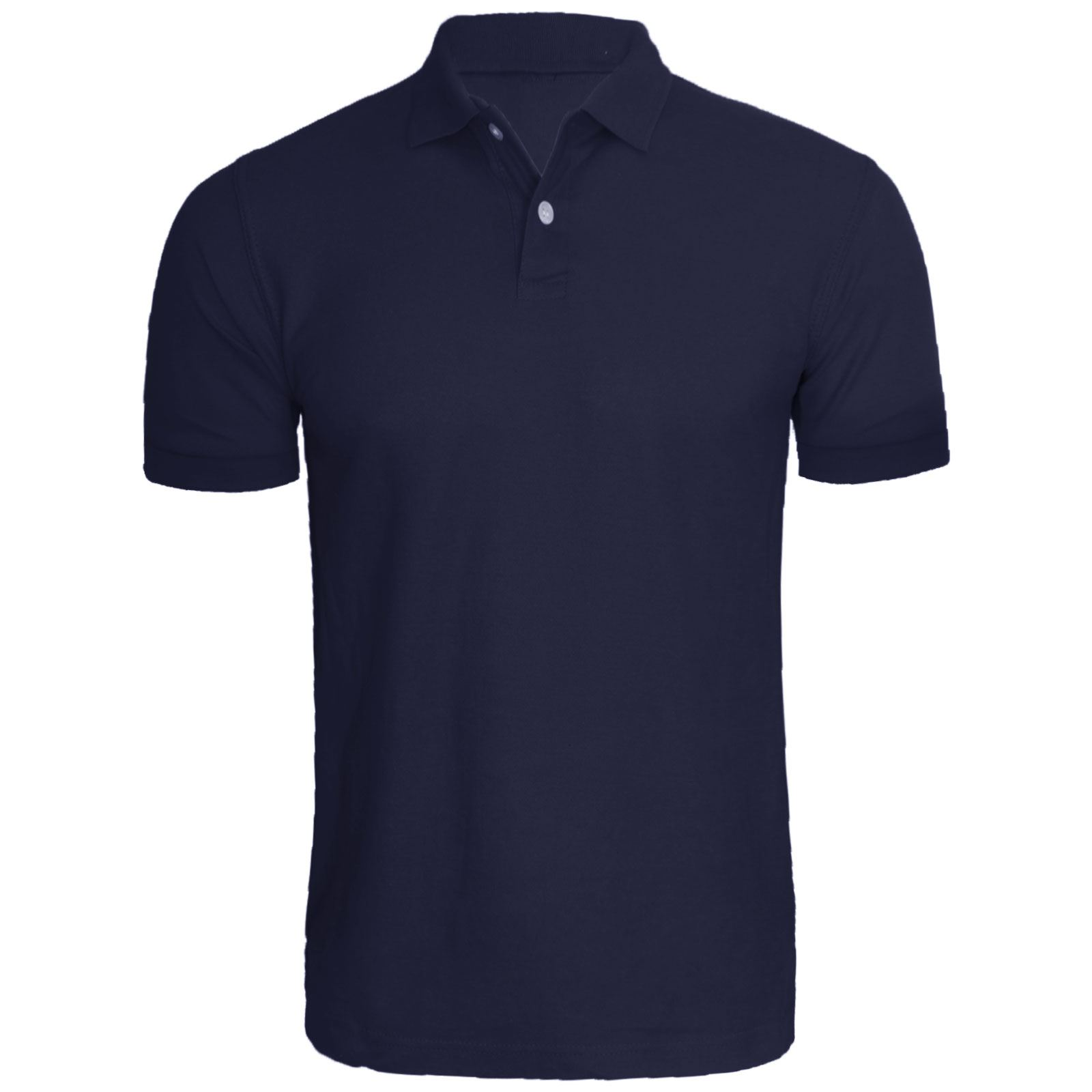 NEW MENS SHORT SLEEVE PLAIN POLO TSHIRT TOP GOLF SHIRT ...