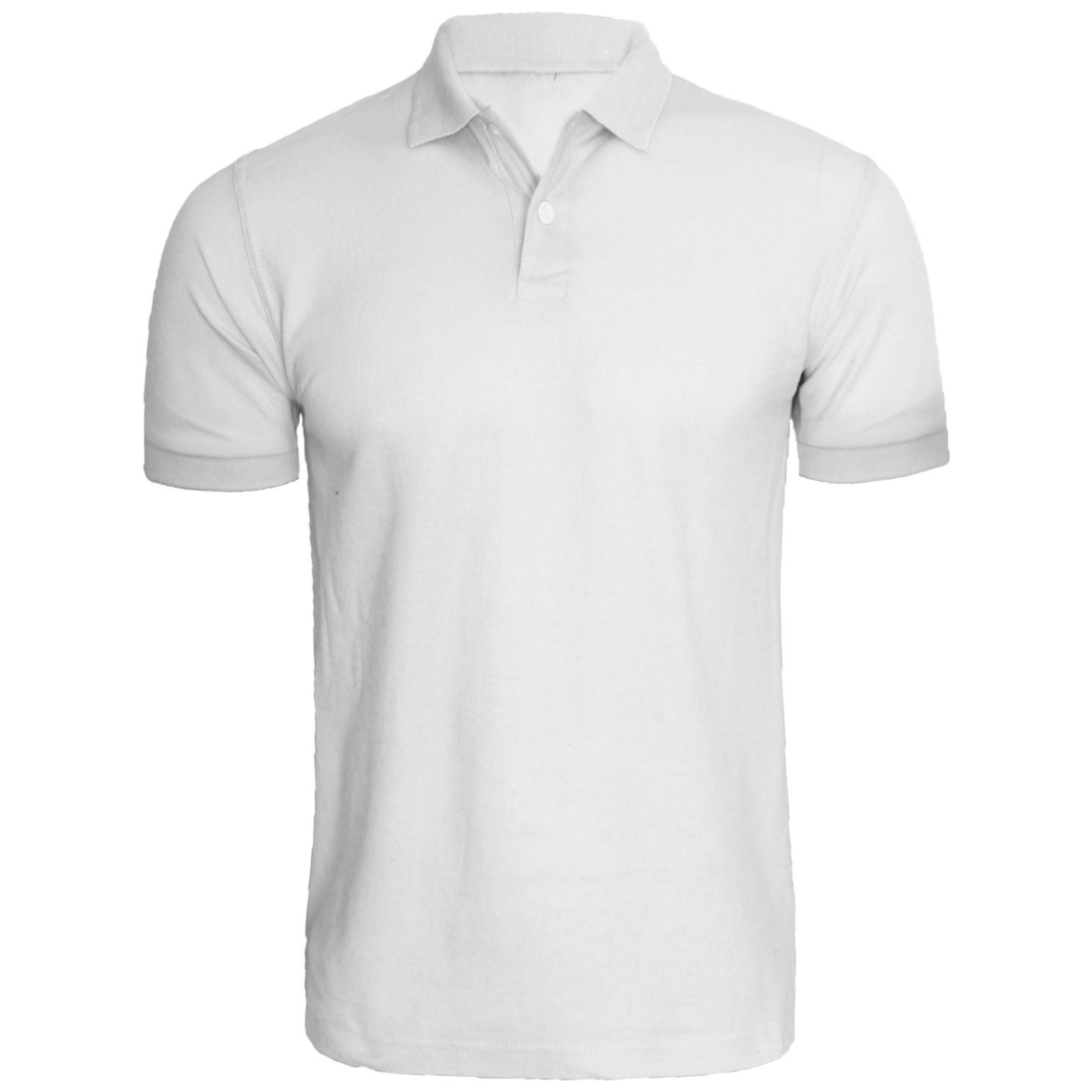 White polo shirt front images for Man in polo shirt