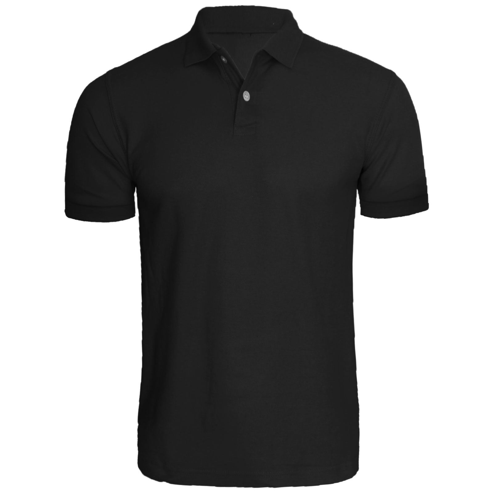 New mens short sleeve plain polo tshirt top golf shirt for Mens collared t shirts
