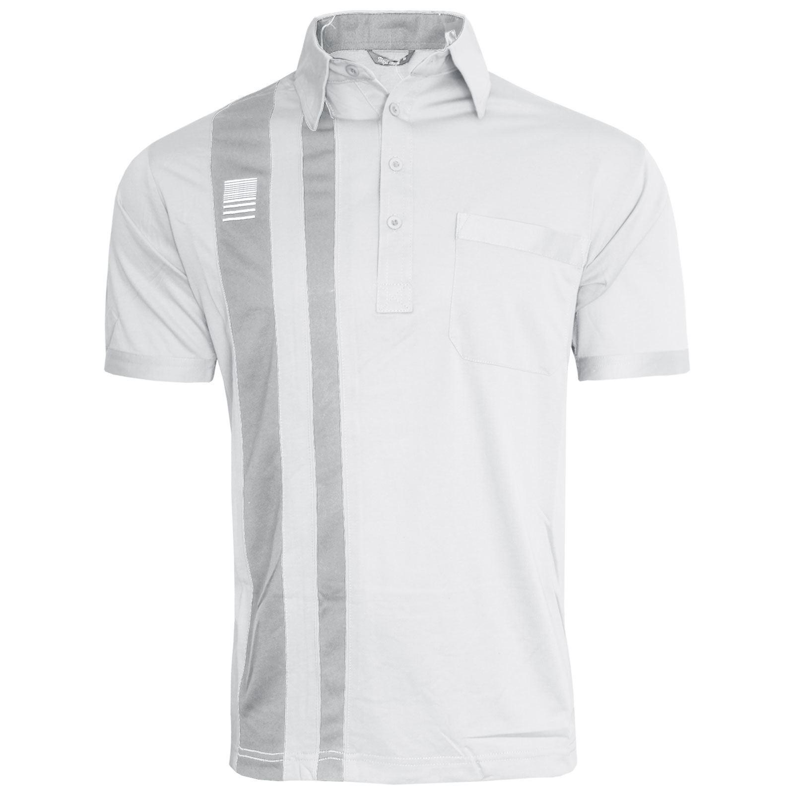 Mens Short Sleeve Plain Design Polo Shirt T Shirt Top