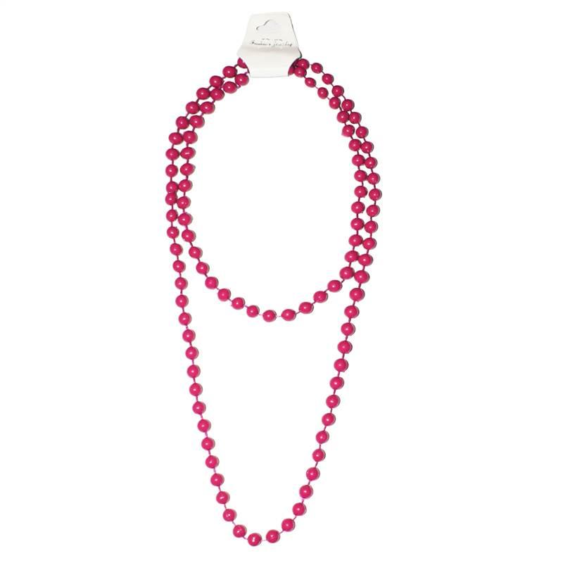 plastic beaded necklace neon tut fancy dress