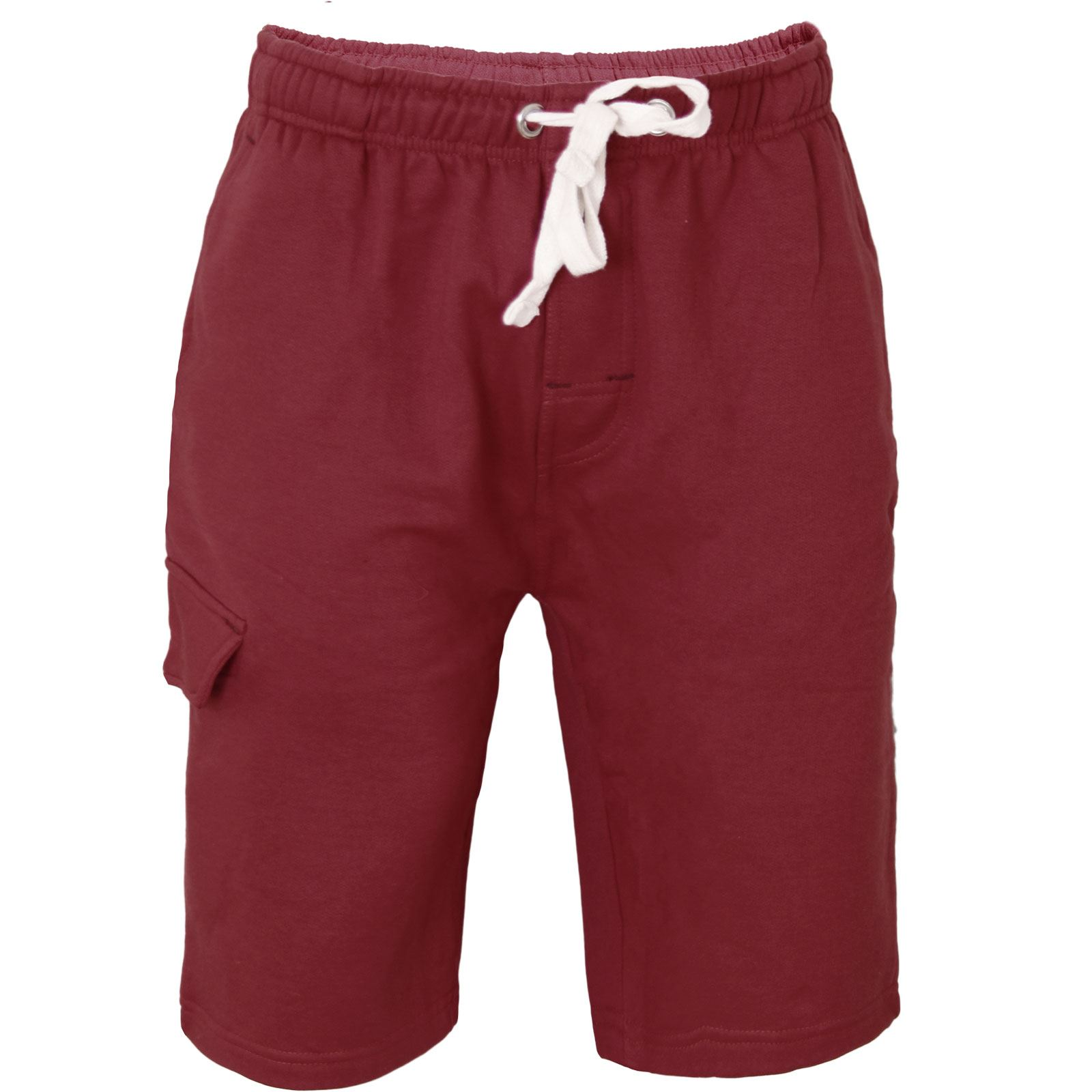 mens long 34 casual shorts summer jersey sports gym