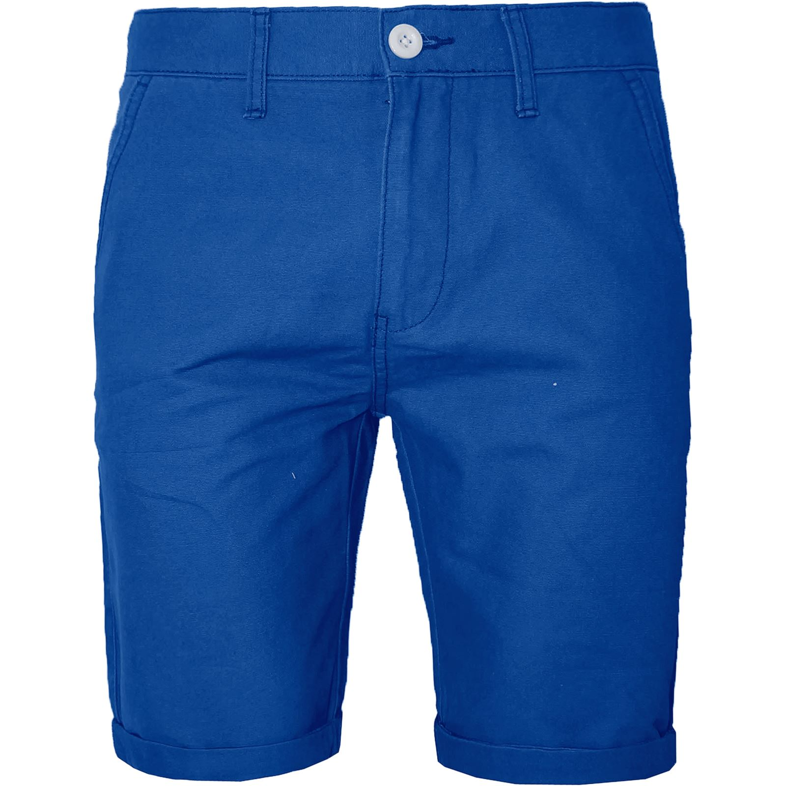 MENS CHINO SHORTS COTTON HALF PANT CASUAL JEANS TURN OVER CARGO ...