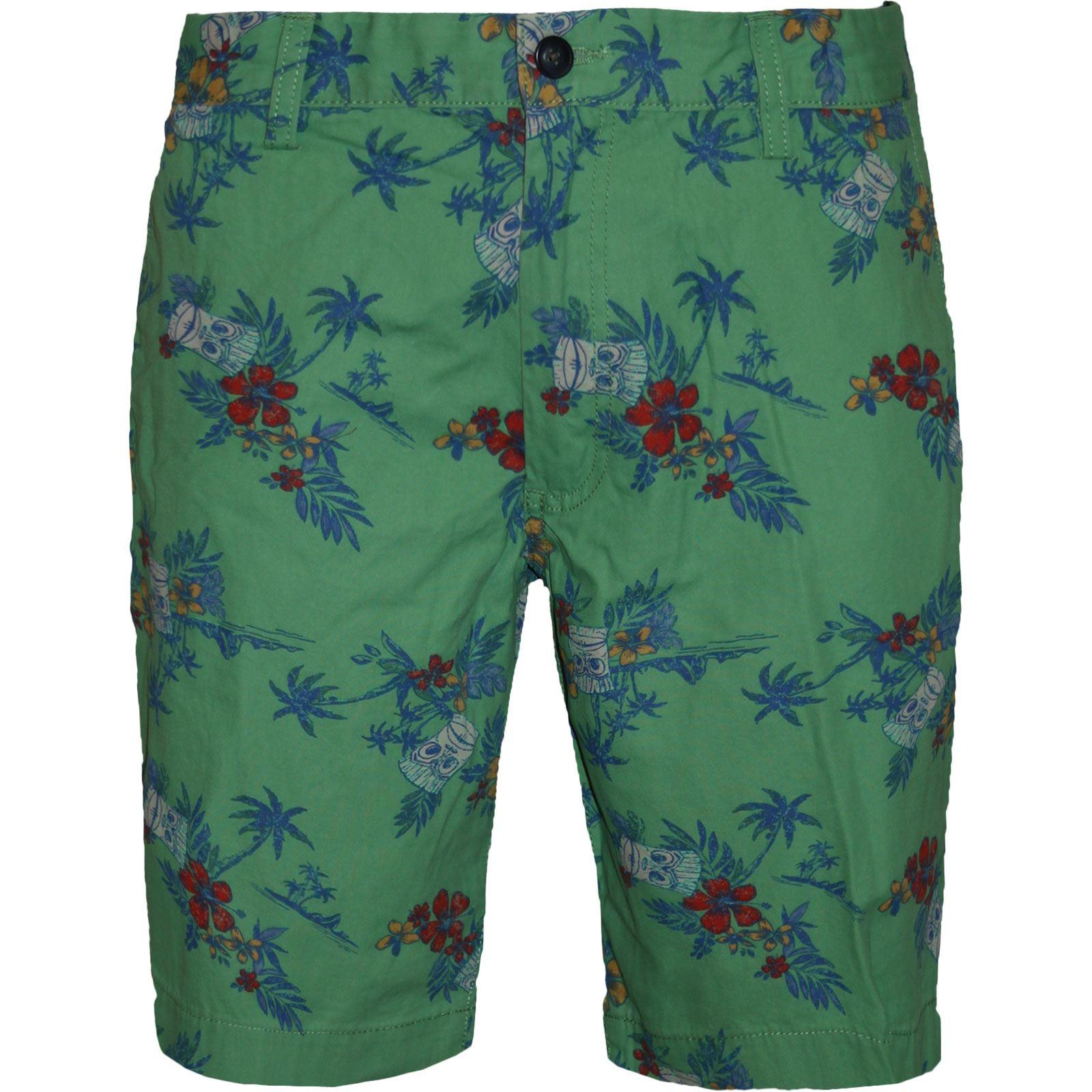 New Mens Zara Chino Shorts Printed Bermuda Floral Hawaiian Cargo ...