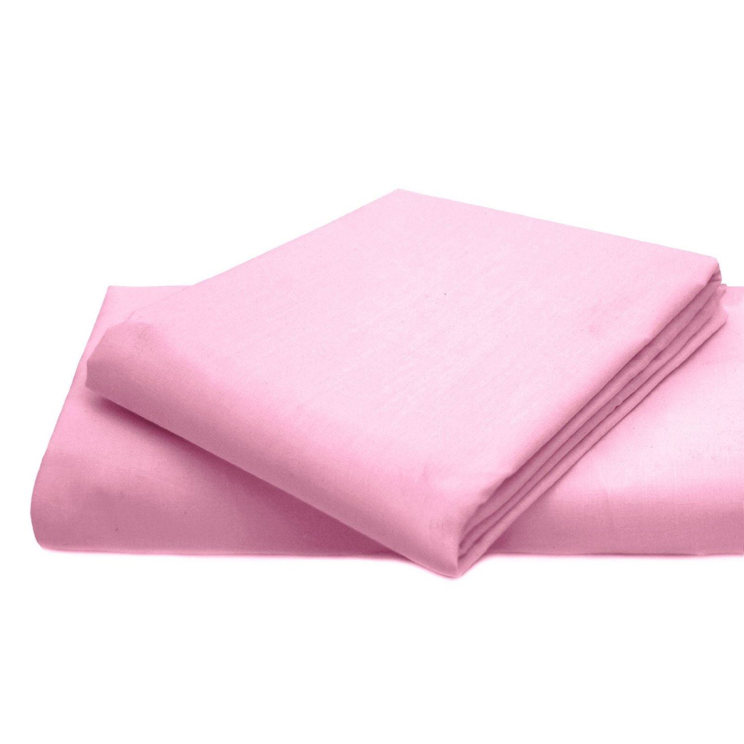 Plain Fitted Bed Sheets Colour Egyptian Cotton Polyester