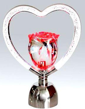 Colour-changing-LED-Rose-Heart-Shaped-Valentine-Christmas-Xmas-Gift-Decoration