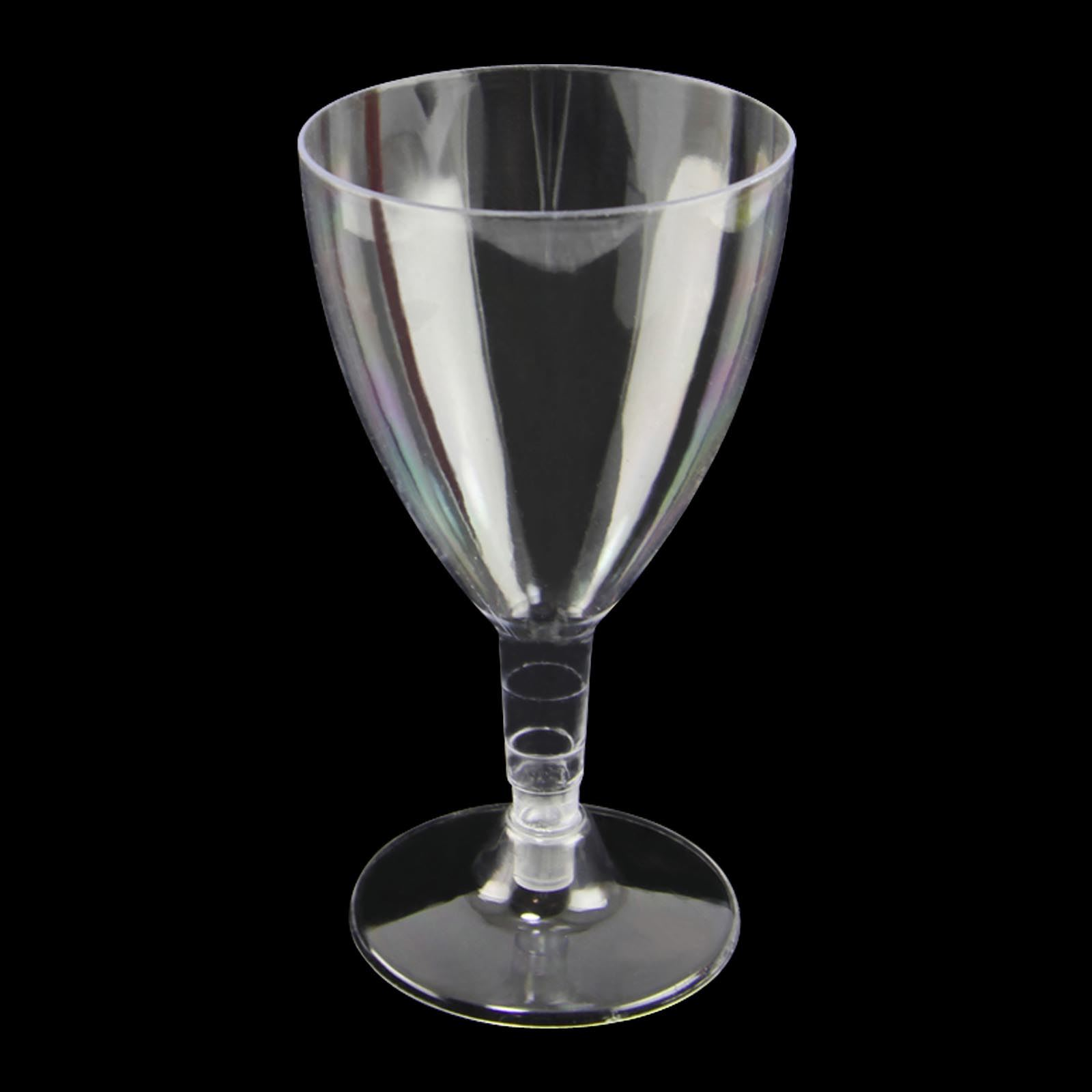 Disposable plastic wine glasses canape dishes dessert for Plastic canape dishes