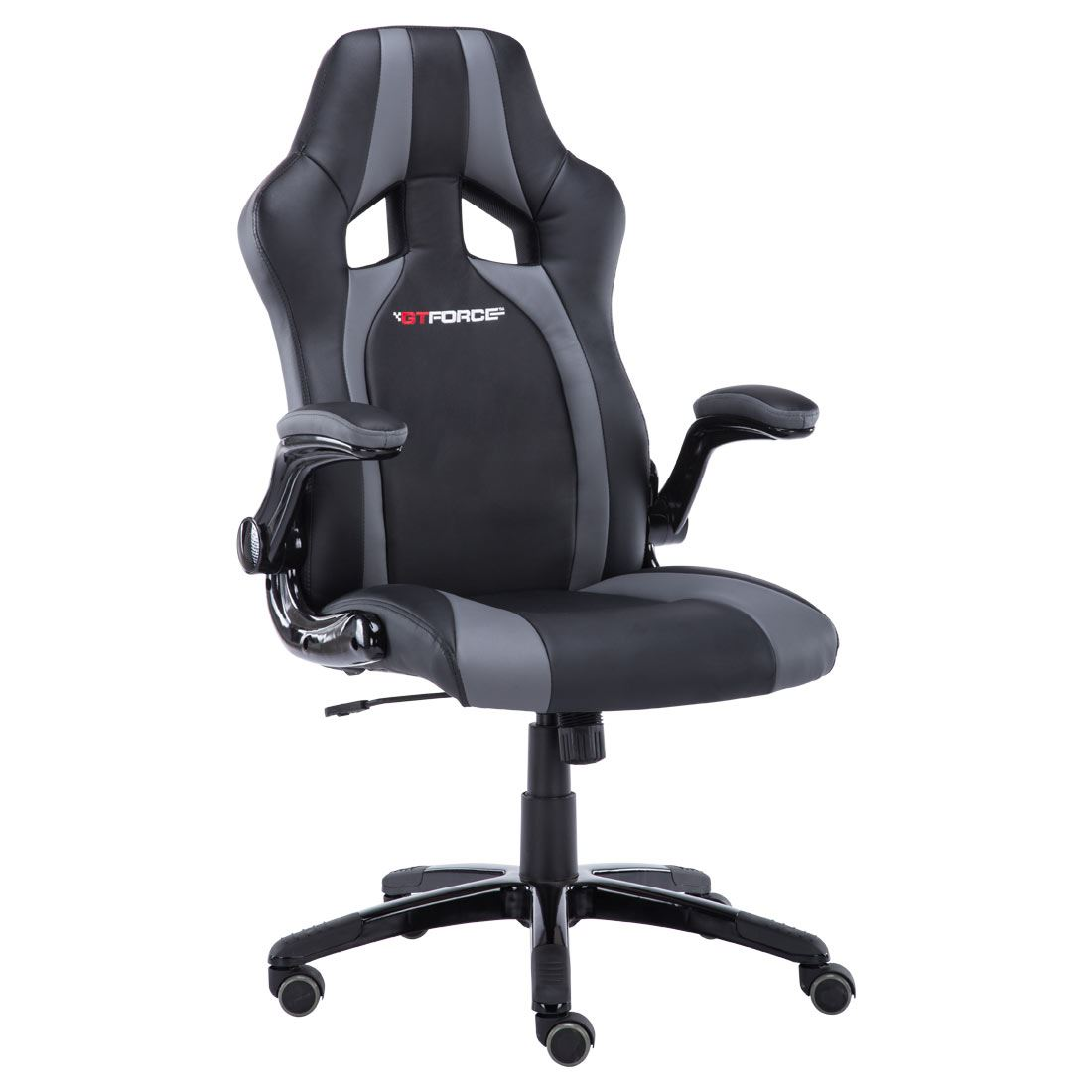 gray black sport racing car office chair leather gaming desk ebay