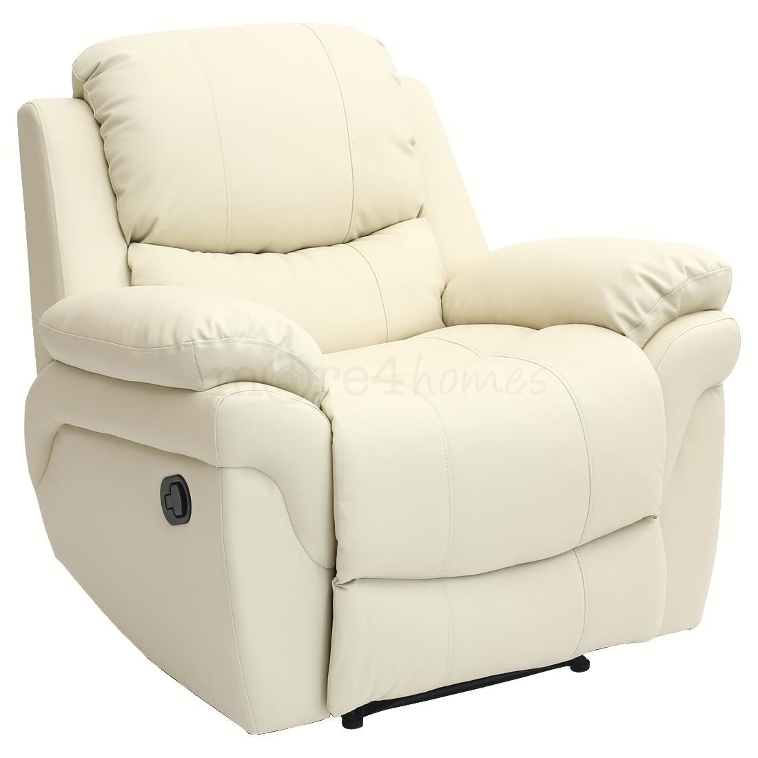 MADISON CREAM REAL LEATHER RECLINER ARMCHAIR SOFA HOME  : 132a67e6 6e9f 4a7c 8cd4 0f6ce308b796 from www.ebay.co.uk size 1100 x 1100 jpeg 54kB
