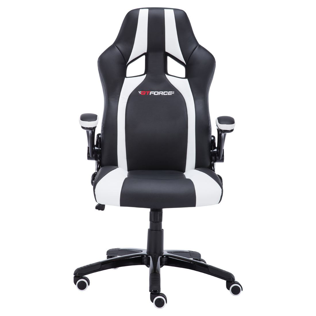 white black sport racing car office chair leather gaming desk ebay