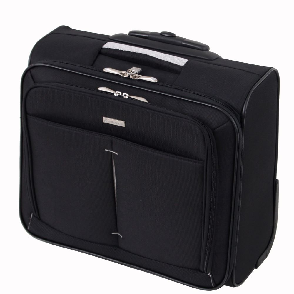 Wheeled laptop business suitcase briefcase flight cabin for Laptop cabin bag