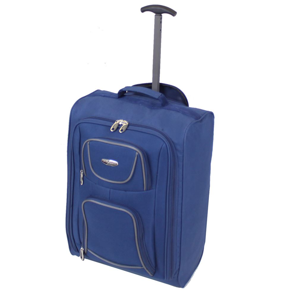 Cabin approved ryanair hand luggage travel holdall wheeled trolley suitcase bag ebay - Equipaje de cabina easyjet ...