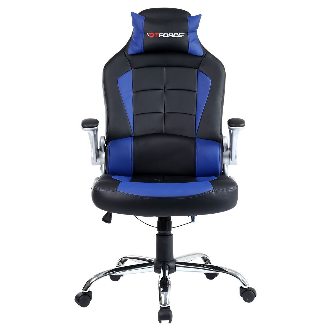 GTFORCE BLAZE RECLINING LEATHER SPORTS RACING OFFICE DESK CHAIR GAMING COMPUT