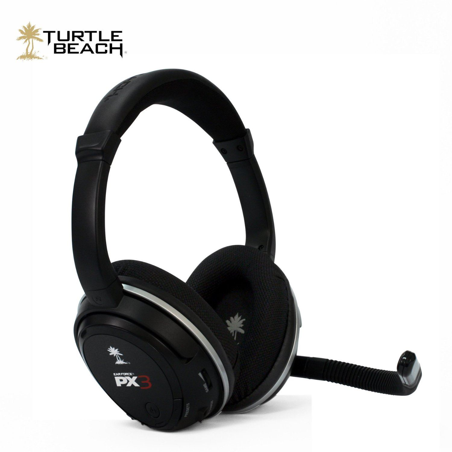 turtle beach px3 universal wireless gaming headset with microphone ps3 xbox ebay. Black Bedroom Furniture Sets. Home Design Ideas