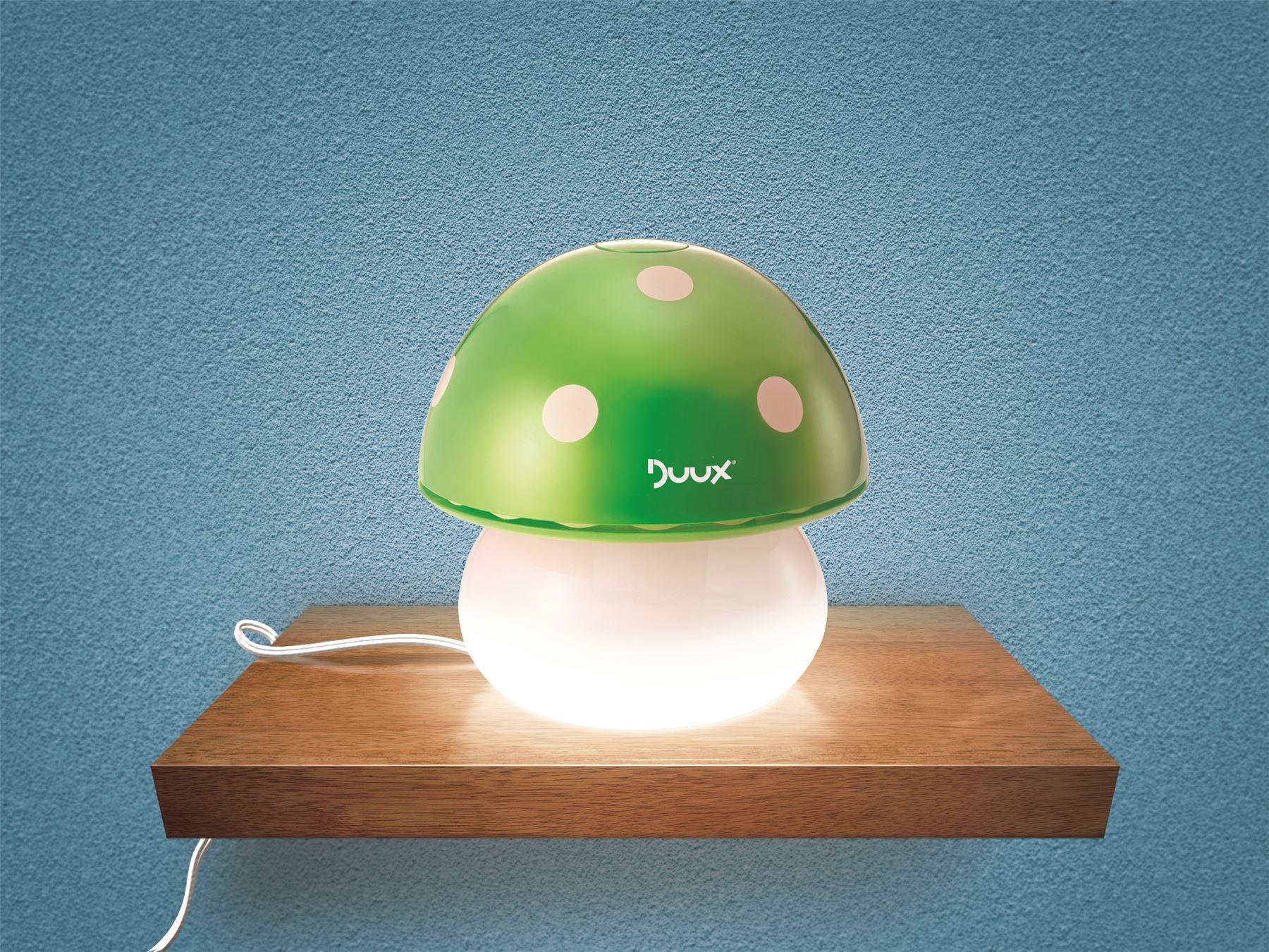 Eco Friendly Air Purifier Nightlight for Baby Nursery Mushroom Green #976334