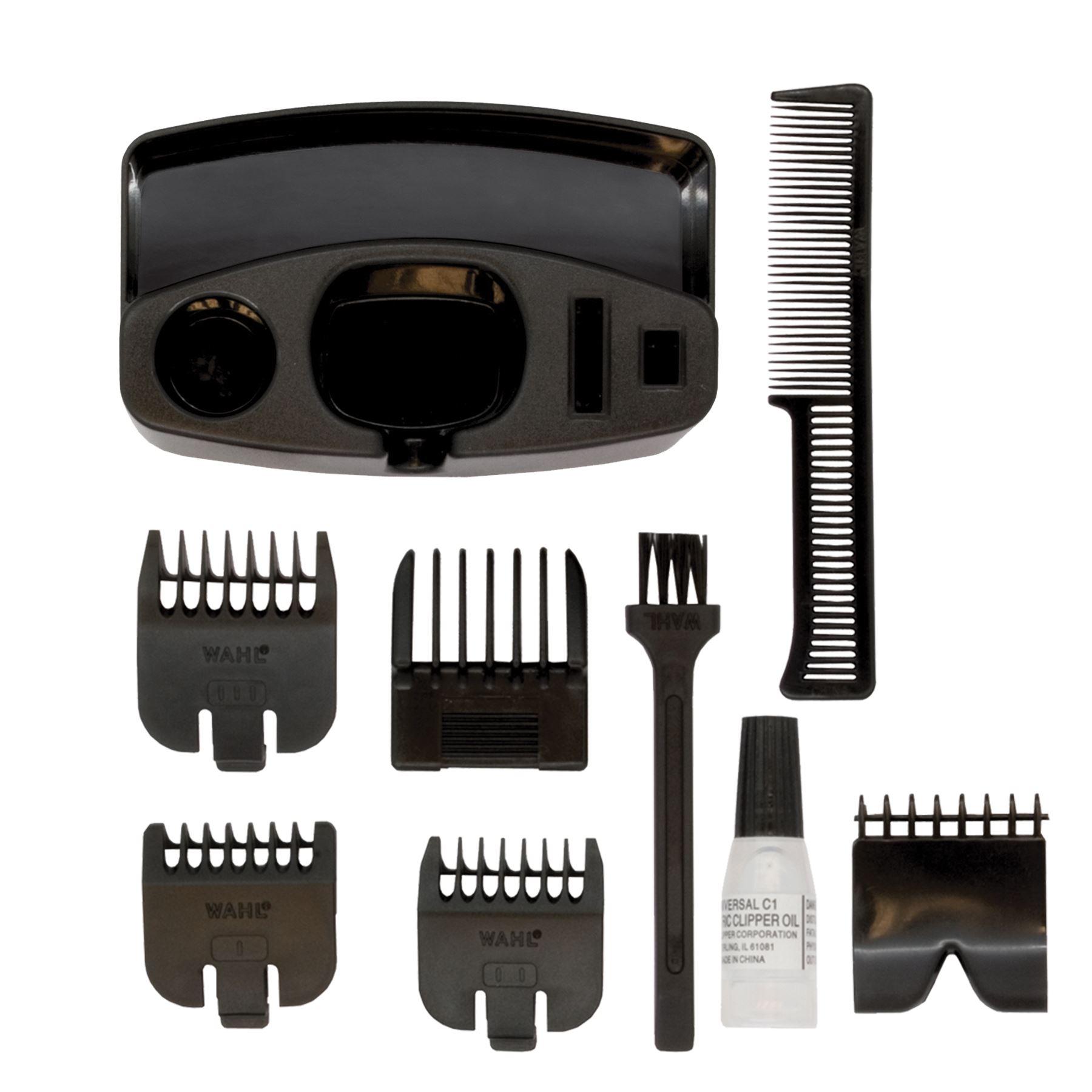 wahl mens beard trimmer performer battery powered 5537 217 5037127008010 ebay. Black Bedroom Furniture Sets. Home Design Ideas