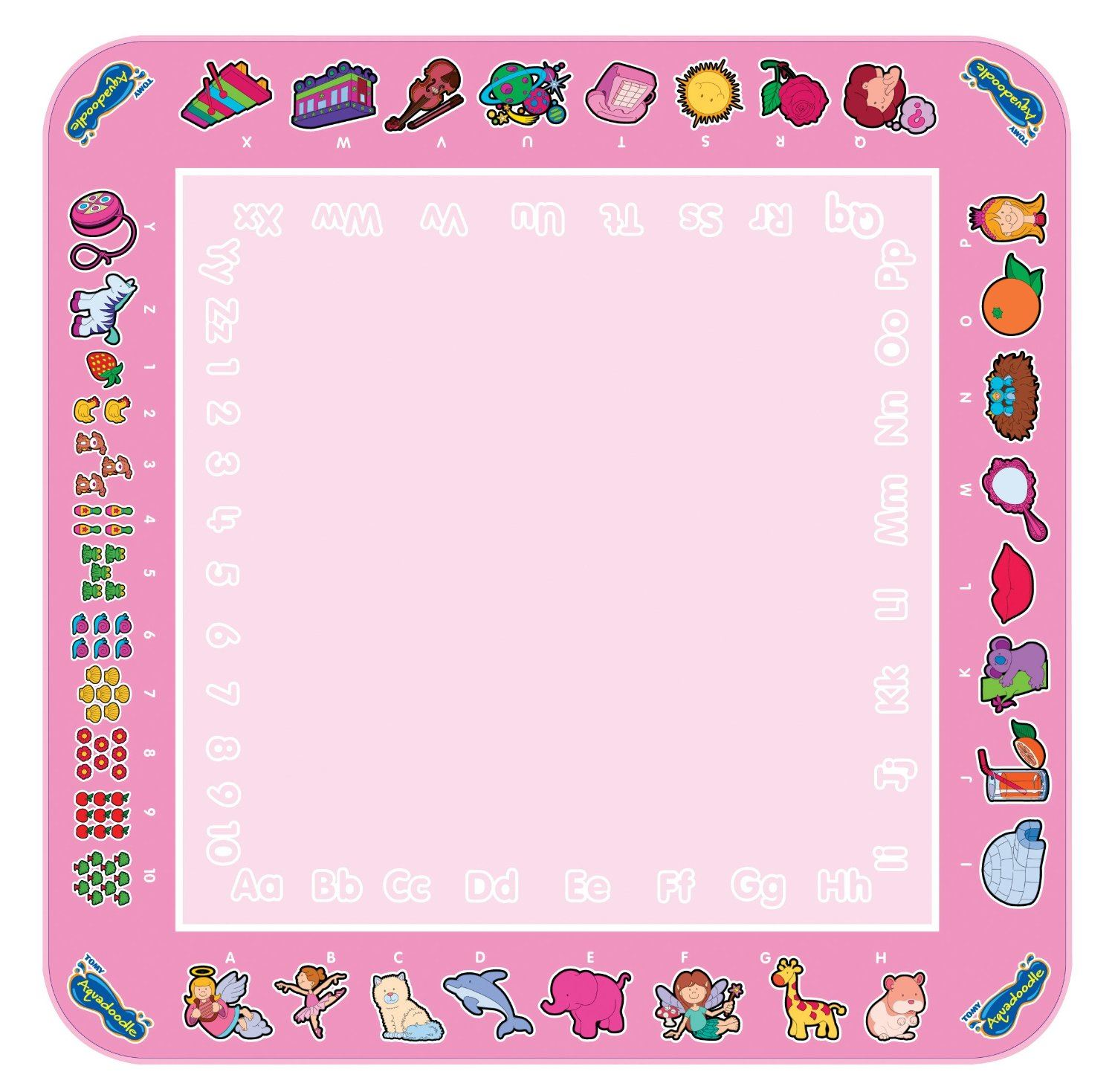 itm TOMY Classic Aquadoodle Mat Fun Baby Toddler Learning Art Clean Drawing