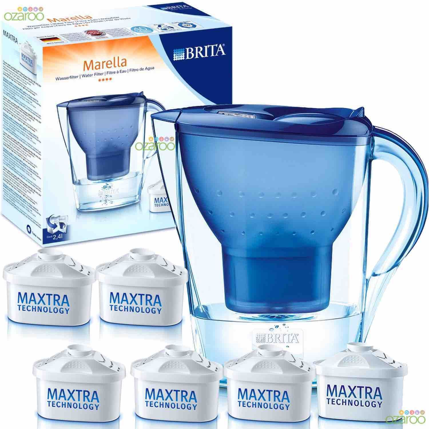 brita home edition marella water filter jug 6 maxtra. Black Bedroom Furniture Sets. Home Design Ideas