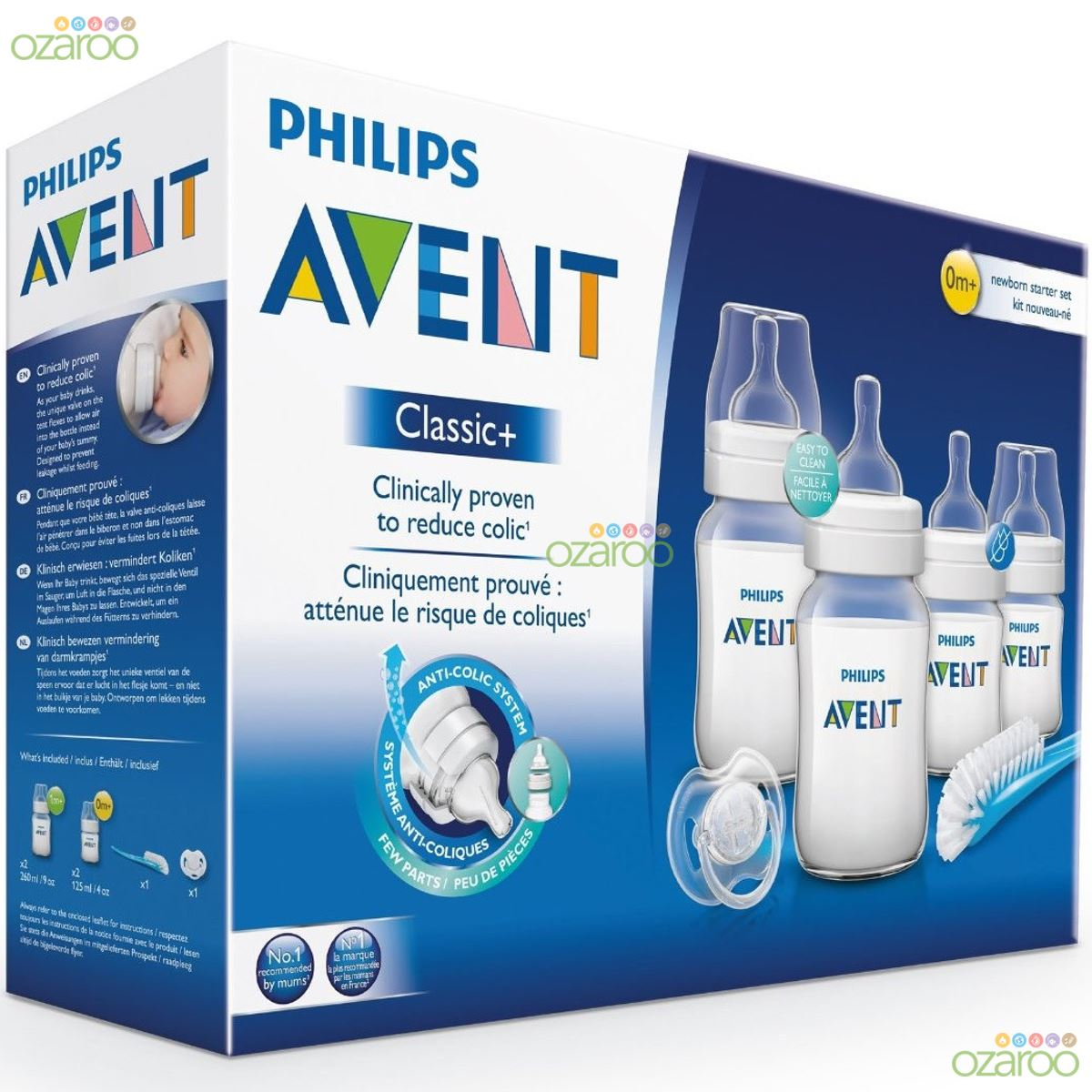 philips avent scd271 00 newborn baby bottle starter set kit pack brand new ebay. Black Bedroom Furniture Sets. Home Design Ideas