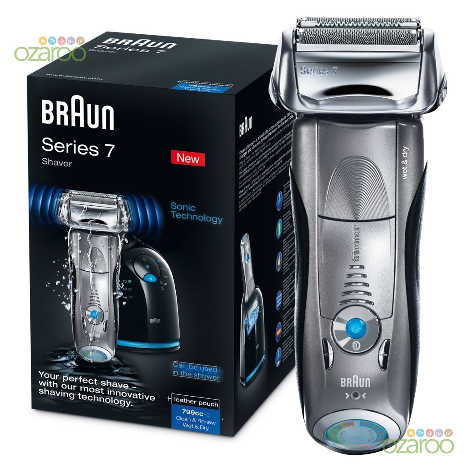 how to clean electric shaver