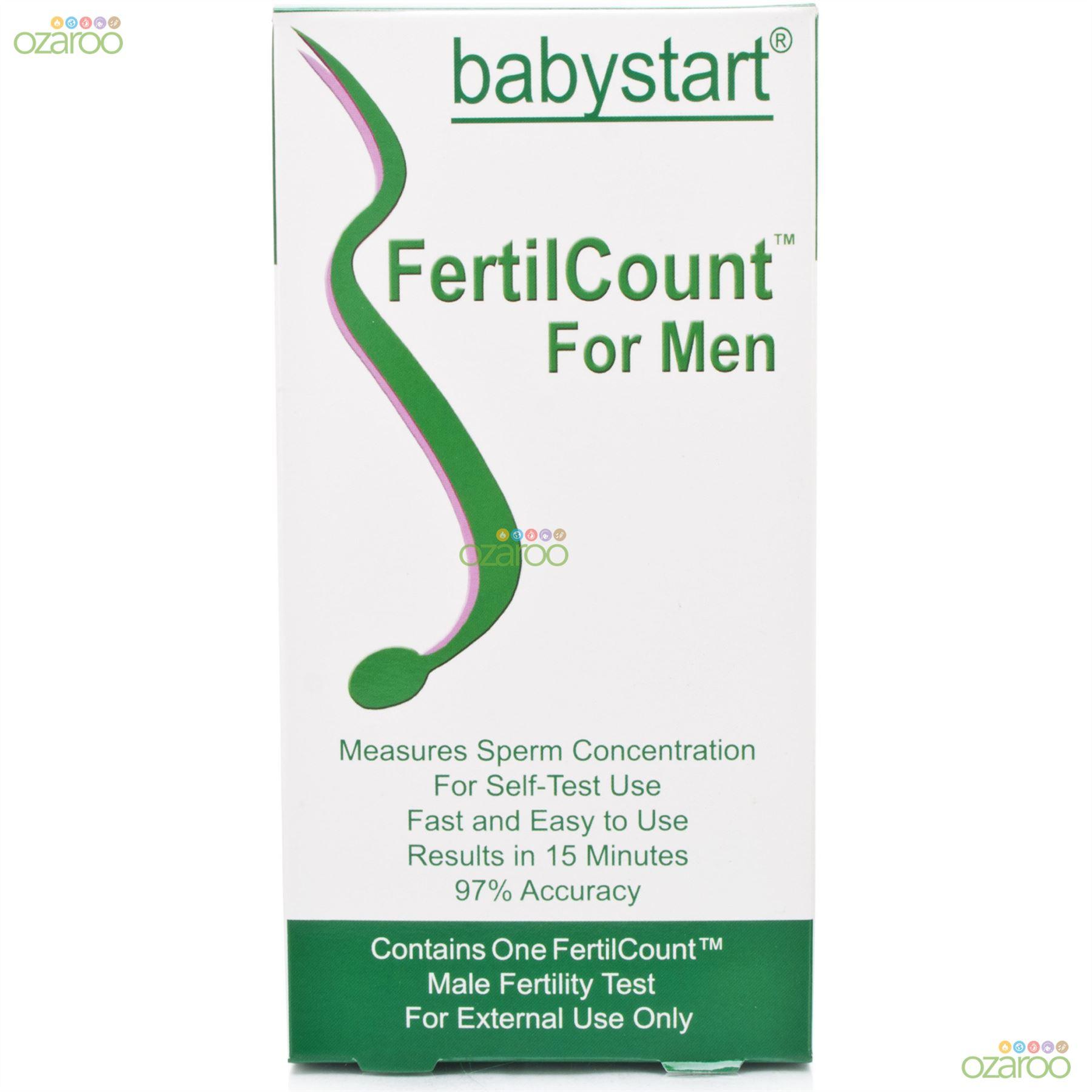 Home sperm testing kit